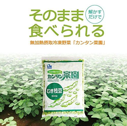 【冷凍】ノースイ 簡単菜園 むき枝豆 500g