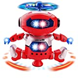 Best 幼児の女の子のおもちゃを販売 - Fashionbuy ロボット 踊る電動ロボット 知育玩具 ダンスロボット 360度回転 二足歩行 可愛いおもちゃ ライト付き 出産祝い 誕生日プレゼント Review