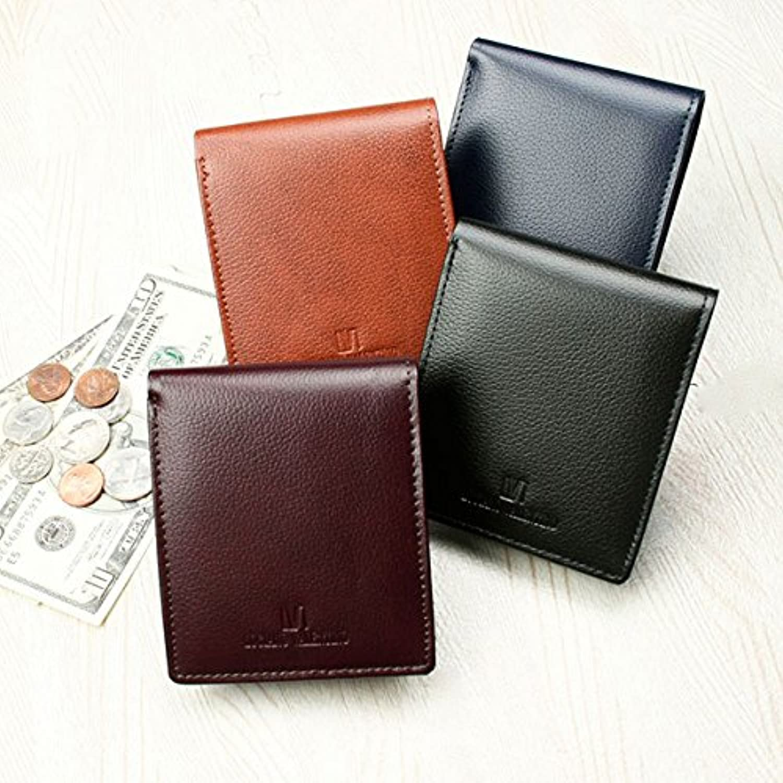 ルチアーノ バレンチノ 短財布 メンズ LUV-8002-BK ブラック