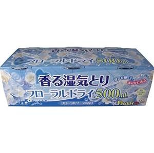 白元 香る湿気とり フローラルドライ500ml フローラルソープの香り 3個入