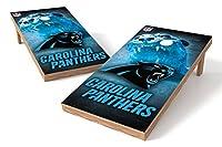 Wild Sports NFLロサンゼルスチャージャーズ 2x4フィート 本格的なコーンホールゲームセット X-Large