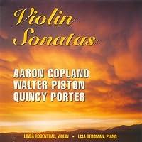 Violin Sonatas: Copland, Piston, Porter