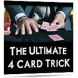 [マジック メーカー]Magic Makers Ultimate 4 Card Trick by George Bradley Trick MM-6621 [並行輸入品]