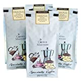 Coffee Masters Gourmet Coffee, 100% Arabica Coffee, Whole Bean, 12-Ounce Bags (Pack of 4)