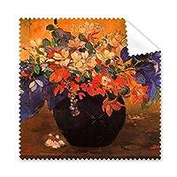 Paul Gauguin ウェスタン 油絵 メガネ クロス クリーニング 布 電話 スクリーン クリーナー 5個