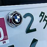 バイク用 BMW ロゴ ナンバープレート ボルト ライセンスボルトセット1台分 BMW MOTORCYCLE