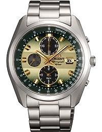 [オリエント]ORIENT 腕時計 スポーティー NEO70's ネオセブンティーズ Horizon ホライズン ソーラー クロノグラフ WV0021TY メンズ