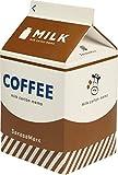 SakasaMark メモ帳 牛乳パック コーヒー牛乳 SR00006-3
