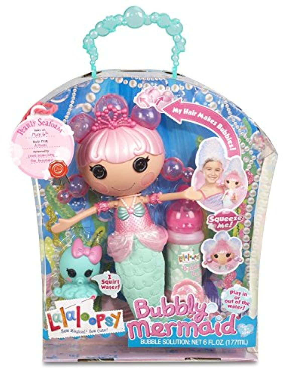 Lalaloopsy Bubbly Mermaid人形 – Pearly Seafoam
