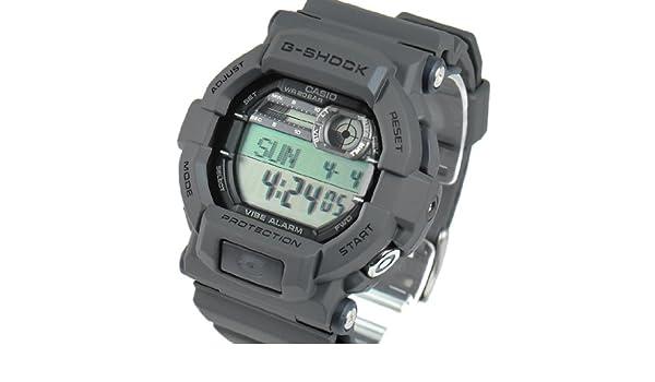 677f2888a9 Amazon | CASIO カシオ Gショック G-SHOCK メンズ デジタル 腕時計 バイブレーション GD-350-8DR グレー 海外モデル  [時計] 逆輸入品 | 並行輸入品・逆輸入品・中古 ...