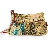 Trifine Unisex Natural Crossbody Bag, Flower, One Size