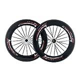 RXL SL カーボンホイール セット 自転車の車輪 自転車用ホイール3k RIMの深さ88mm 幅23mm 道路ロード T700自転車ホイールセット クリンチャーホイール セット RXL1780