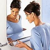 インテリア鏡貼 割れない鏡 浴室 化粧 壁貼りシール 60 x 100cm 現代芸術 おしゃれ 部屋装飾 ミラー 壁鏡効果DIY よい可視の鏡 安全 高い品質PET