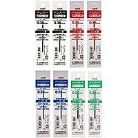 三菱鉛筆 ボールペン替芯 ジェットストリーム 多色多機能 0.38 4色×2本入 SXR8038