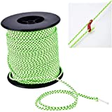 Sports & Outdoors 2.5mm Diameter Reflective String Windproof Tent Rope Line Camping Rope Reflective Tent Ropes, Length: 50m Tents & Accessories
