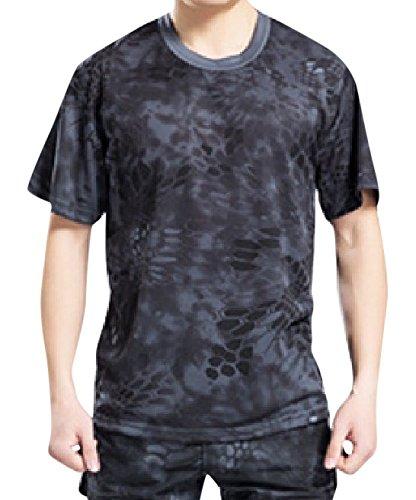 【ノーブランド品】タクティカルTシャツ   迷彩Tシャツ  ...