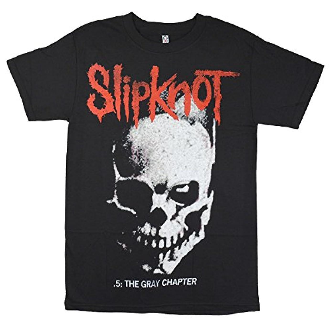 拡声器南極復活するSLIPKNOT スリップノット Skull & Tribal Tシャツ ブラック