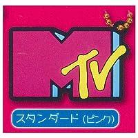 MTV ロゴ ラバーマスコット [4.スタンダード(ピンク)](単品)