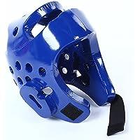 osierr6子Headgear, Kickboxingヘルメットforテコンドー柔道格闘技スパーリングヘルメットギアヘッドプロテクター