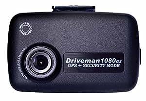 GPS搭載ドライブマン1080GS +セキュリティ機能【ドライブレコーダー シンプルセット】[S-1080GS-DC3]
