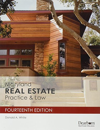 Download Maryland Real Estate Practice & Law 1475421818