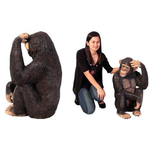 アニマル ビッグフィギュア【チンパンジー】(等身大フィギュア)