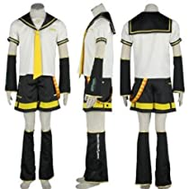 VOCALOID コスプレ 衣装 ボーカロイド 鏡音レン  Vocaloid II Kagamine Len Cosplay Costume (L)