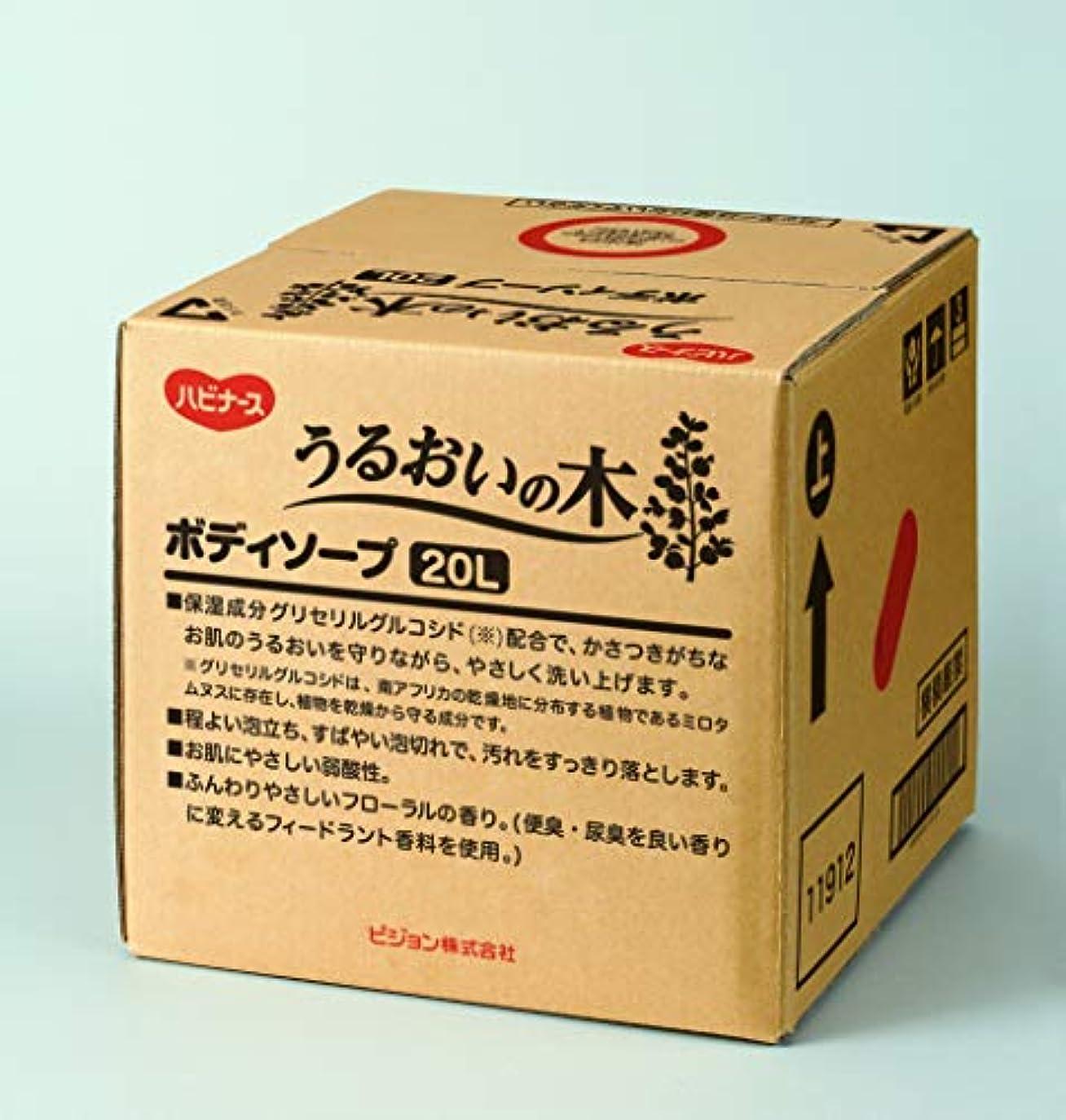 ペルメル虚弱付録ハビナース うるおいの木 ボディソープ 20L [業務用]