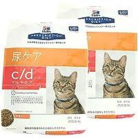 【2袋セット】ヒルズ 猫用 c/d マルチケア コンフォート ドライ 4kg