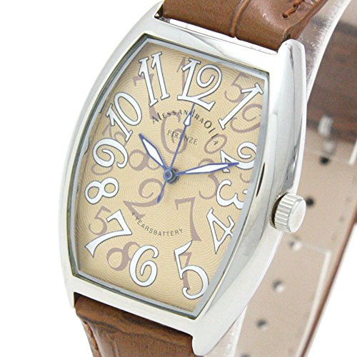 [アレサンドラオーラ]Alessandra Olla 腕時計 クォーツ式 AO-4550-4 メンズ