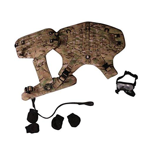 タクティカルボディアーマー K9 カモフラージュ 1/6 MCC-002B