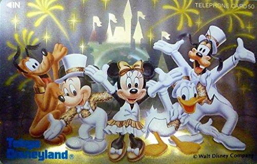 [해외]전화 카드 | 전화 카드 디즈니 Tokyo Disneyland | 도쿄 디즈니 랜드 미키 미니 도날드 다른 50 도수/Phonecard | Telephone Disney Tokyo Disneyland | Tokyo Disneyland Mickey · Minnie · Donald and others 50 degrees