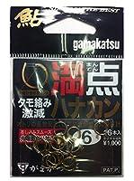 がまかつ(Gamakatsu) 鮎針 満点ハナカン 6号 68310