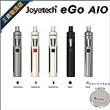 【正規品】Joyetech eGo AIO kit 電子タバコ VAPE オールインワンモデル コンパクト 最新スターターキット 軽量 LEDランプつき 味濃い 簡単操作 ニコチン0 禁煙