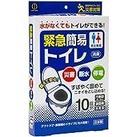 小久保 緊急簡易トイレ 凝固剤入10回分入 KM-012