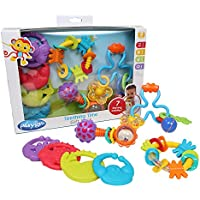 Playgro 4 Piece Teething Time Gift Pack by Playgro