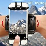 Best iPhone 5アームバンド - ARMRA リストバンド 180°回転 ユニバーサル 4インチ〜5.5インチ スポーツリストケース  iPhone Review