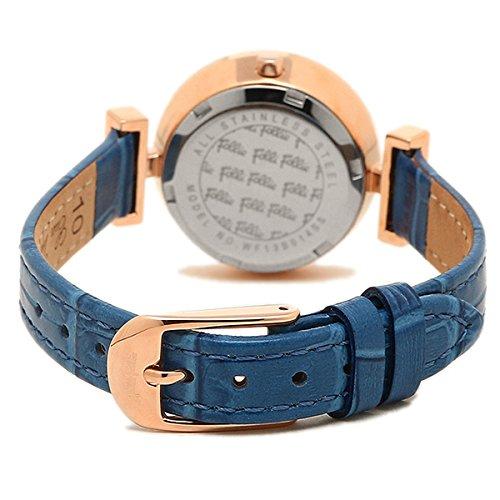 (フォリフォリ) FOLLI FOLLIE フォリフォリ 時計 FOLLI FOLLIE WF13B014SSUBL ダイナスティ DYNASTY レディース腕時計ウォッチ ブルー/ピンクゴールド [並行輸入品]