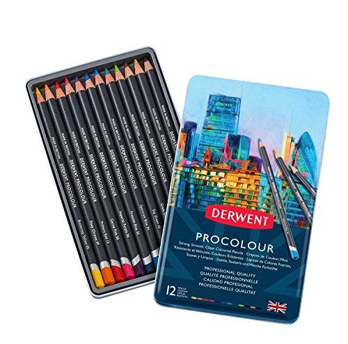 ダーウェント プロカラー色鉛筆 12色セット