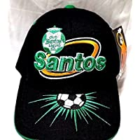 Solスポーツ新しい。Club Deportivo Santos De Torreon刺繍調節可能なキャップ