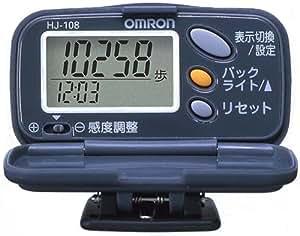 オムロン(OMRON) 歩数計 ヘルスカウンタ ステップス リッチブラック HJ-108-K