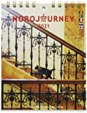 グリーティングライフ 2021年 ヨーロッパを旅してしまった猫と12ヵ月 カレンダー 卓上 C-1304-NH