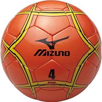 MIZUNO(ミズノ) サッカーボール 4号球 検定球 12OS37054 オレンジ×イエロー×ブラック