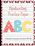 Handwriting Practice Paper Workbook Primary Composition Notebook: Journal Blank Dotted Writing Sheets Notebook For Preschool And Kindergarten Kids Christmas  (tracing Practice Book For Preschoolers)  (ages 2-4, 3-5)Vol.91
