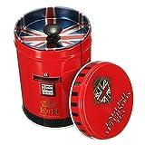 ノーブランド品 二重カバー 食品 密閉 容器 お茶 貯蔵缶 収納缶 キャニスター ボックス 贈り物 全12種類選べる - 11