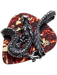 【セノーテ】 cenote p0657c0009 【シルバーネックレス】 シルバーボールチェーン付き ドラゴンギターピックケースペンダント