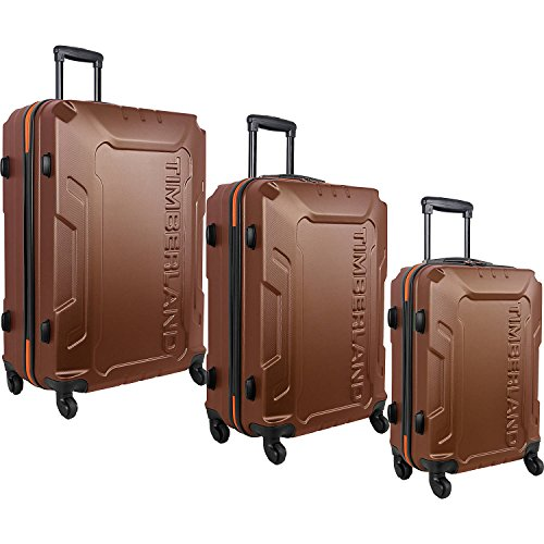 ティンバーランド バッグ スーツケース Boscawen 3-Piece Luggage Set Glazed Gin [並行輸入品]
