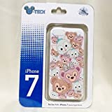 香港 ディズニーランド ツムツム ダッフィー シェリーメイ ジェラトーニ iPhone 7 ケース カバー 海外 限定 日本未 正規品