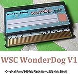 GAMEBANK-web.comオリジナル「ワンダースワン ダンパー用フラッシュカートリッジ / WSC WonderDog V1(64Mbit Flash ROM/256kbit SRAM)」 / ワンダースワン カラー WonderSwan Color DUMPER レトロゲーム 吸い出しツール [0956]