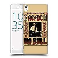 オフィシャル AC/DC ACDC ノー・ブル アルバム・アート Sony Xperia XA Ultra/Dual 専用ハードバックケース